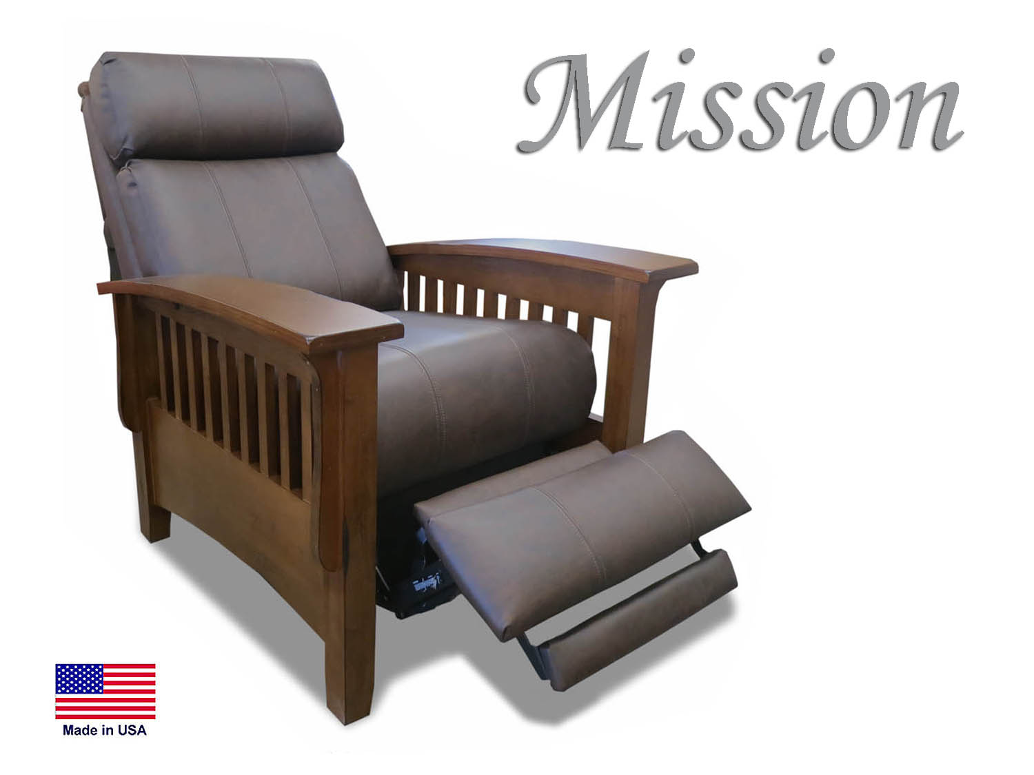 Barbo's Furniture, Mission, Push Back, Recliner, Power, Living Room, Family Room, Den, Seaside, Coastal, Cape Cod, Casual, Transitional, Traditional, Classic, Leather