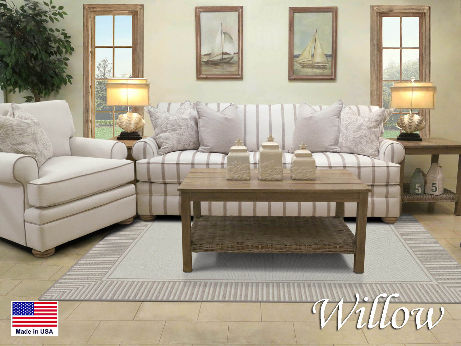 Design your own, Sofa, Chair, Living Room, Den, Family Room, Performance Fabric, Coastal, Seaside, Casual, Cottage, Nautical, Cape Cod, Made in USA, Barbo's Furniture