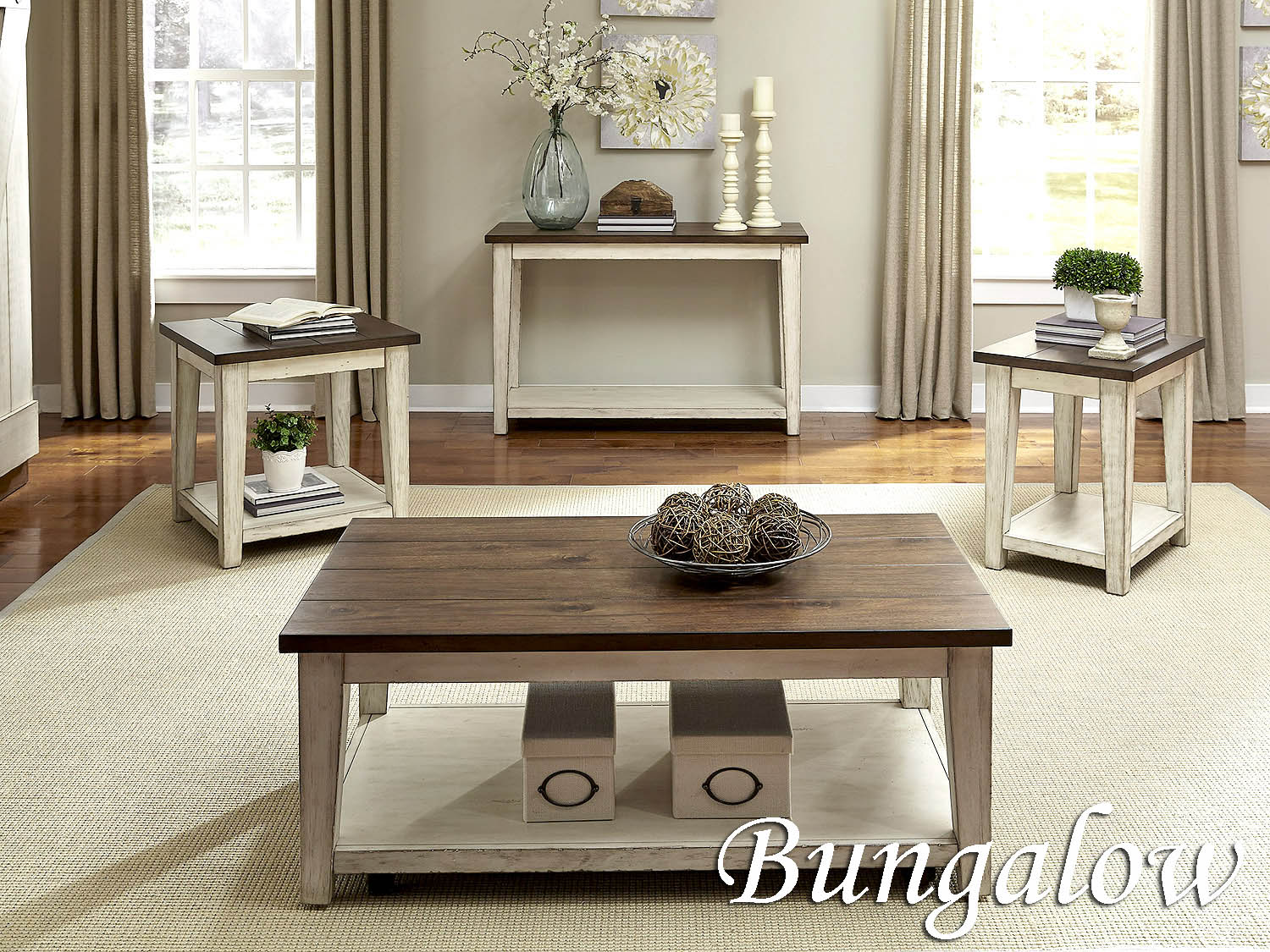 Occasional Tables, Table, Cocktail, Coffee, End, Chairside, Sofa, Bungalow, Living Room, Barbo's Furniture