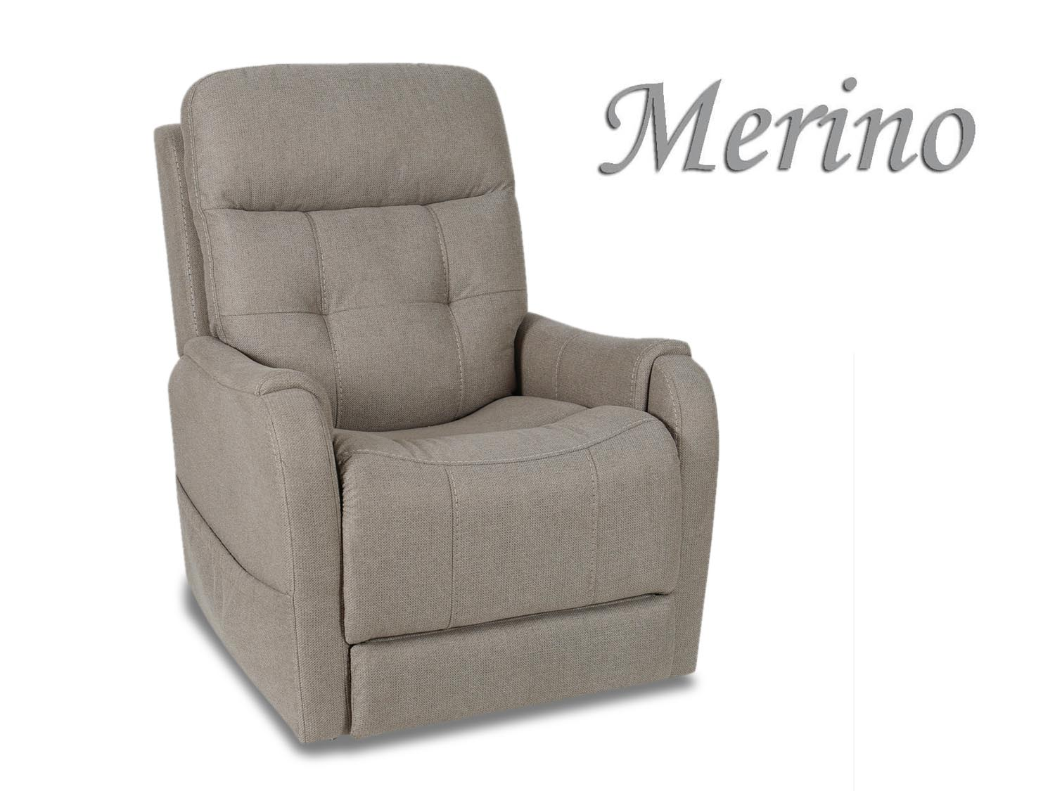 Barbo's Furniture, Merino, Power, Lift, Recliner, Chair, Living Room, Family Room, Den, Transitional, Contemporary, Modern, Sleek, Coastal, Cape Cod, Fabric