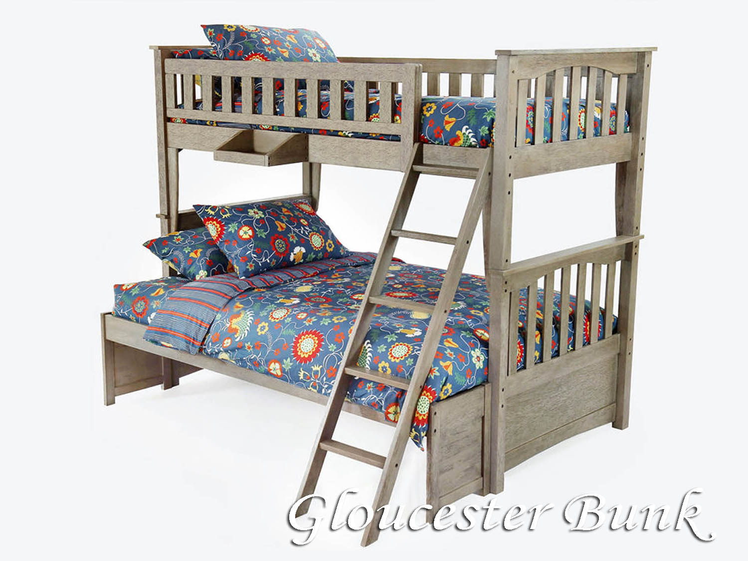 Gloucester, Bunk Bed, Youth, Kids, Bedroom, Barbo's Furniture