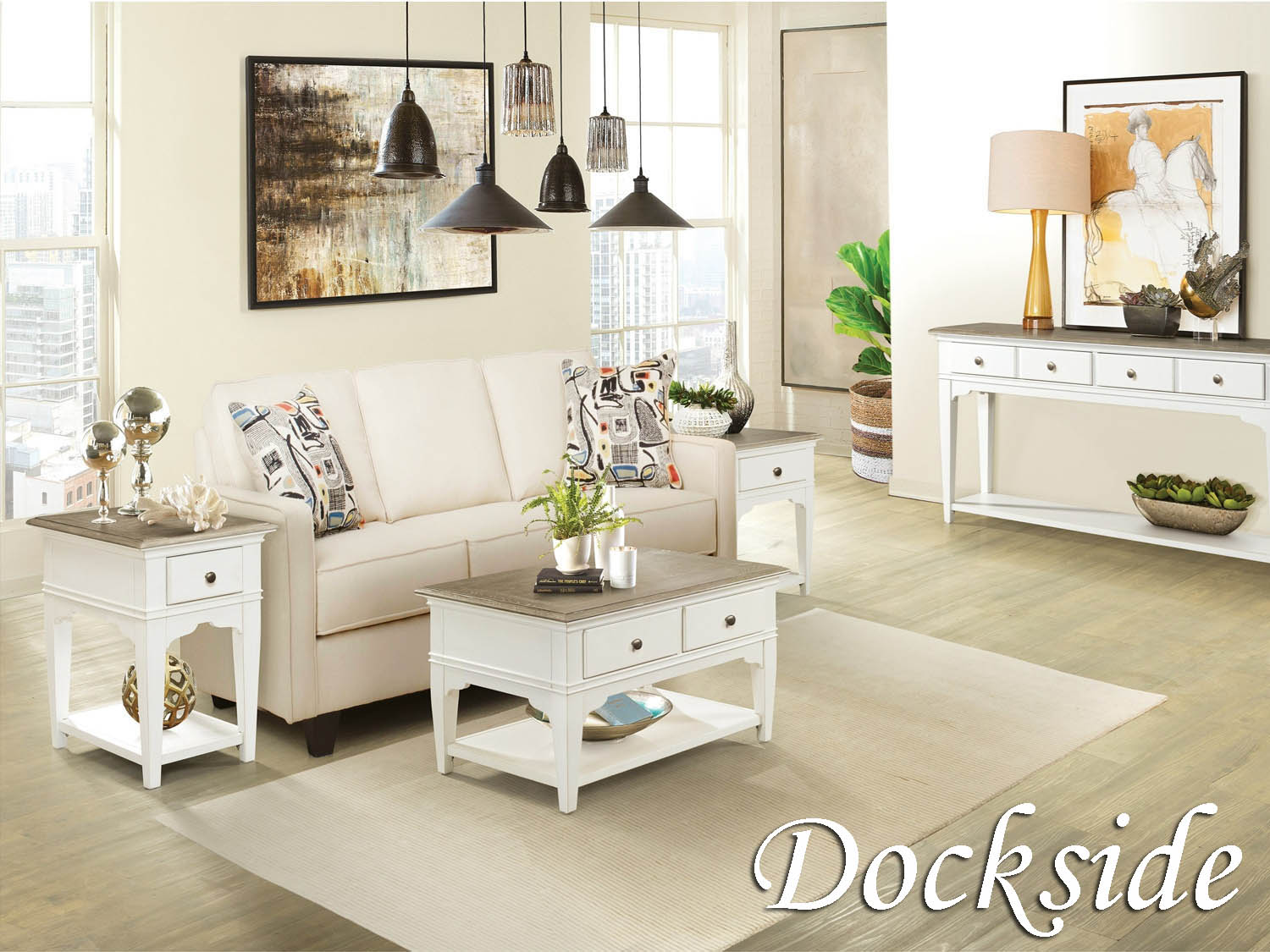 Occasional Tables, Table, Cocktail, Coffee, End, Chairside, Sofa, Dockside, Living Room, Barbo's Furniture
