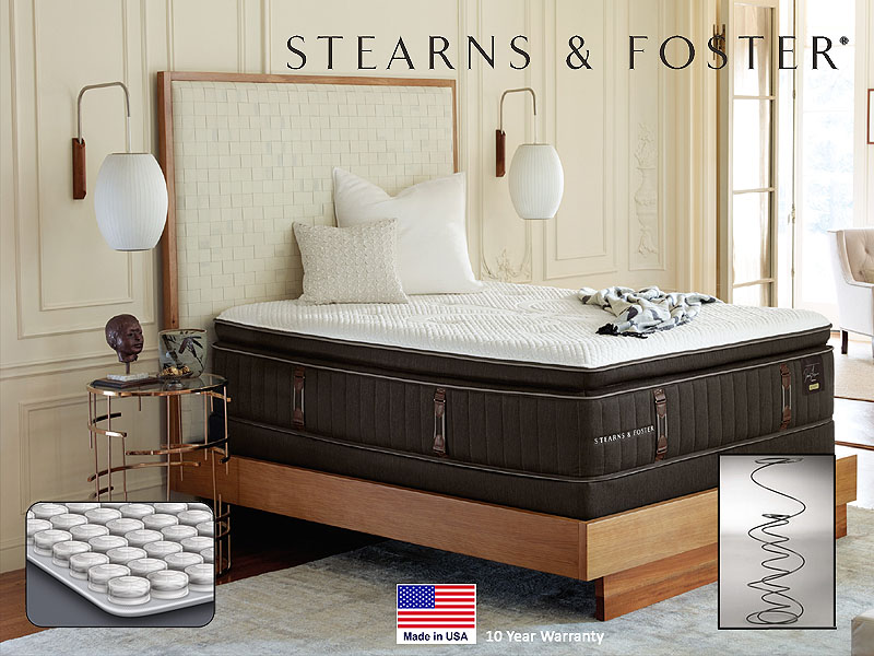 Stearns & Foster Reserve Luxury Firm Euro Pillow Top