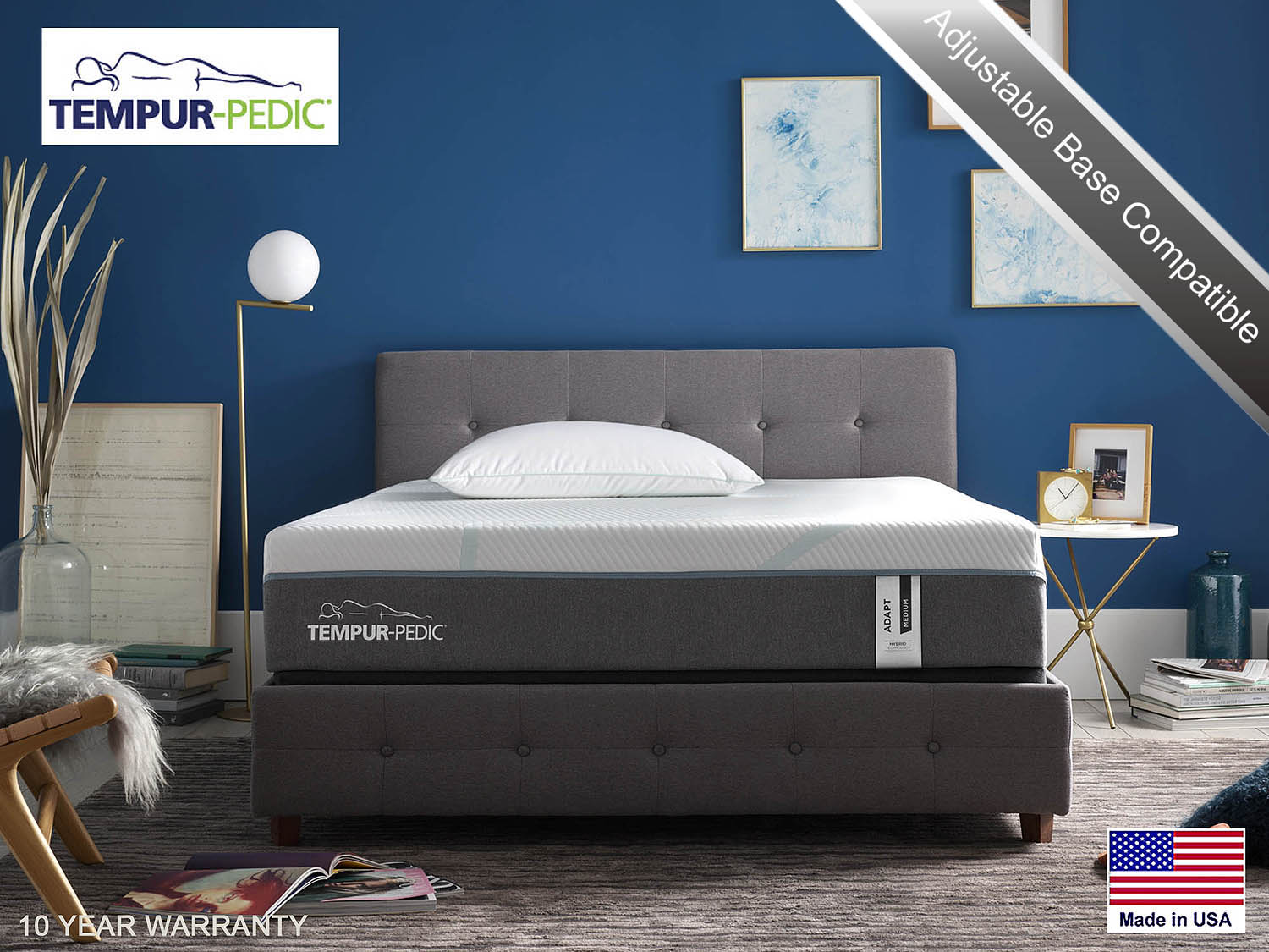 Tempur-Pedic Adapt Hybrid Mattress
