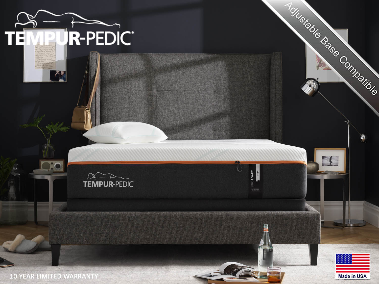 Tempur-Pedic, ProAdapt, Pro Adapt, Firm, Mattress, Mattresses, Barbo's Furniture