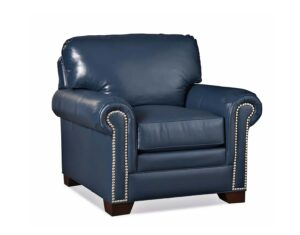 Barbo's Furniture, Albert, Chair, Living room, Family room, Den, Transitional, Traditional, Leather, Made in the U.S.A.