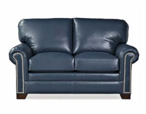 Barbo's Furniture, Albert, Loveseat, Living room, Family room, Den, Transitional, Traditional, Leather, Made in the U.S.A.