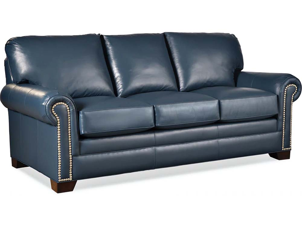 Barbo's Furniture, Albert, Sofa, Living room, Family room, Den, Transitional, Traditional, Leather, Made in the U.S.A.